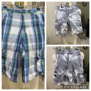 Bundle 3pr Boys Shorts Size 8R (1pr damaged)